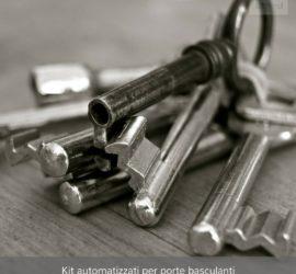 Kit automatizzati per porte basculanti